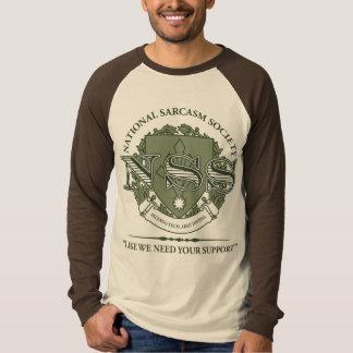 National Sarcasm Society Shirt