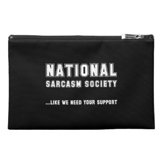 National Sarcasm Society Travel Accessory Bags