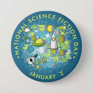 National Science Fiction Day Button