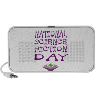National Science Fiction Day iPod Speakers
