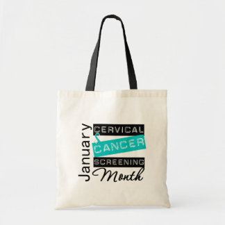 National Screening Month Awareness Cervical Cancer Bags