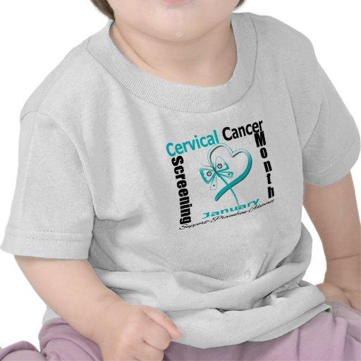 National Screening Month - Cervical Cancer Shirt