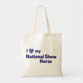 National Show Horse Tote Bag