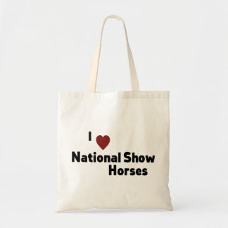 National Show Horses Tote Bag