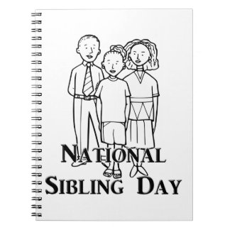 National Sibling Day Note Book