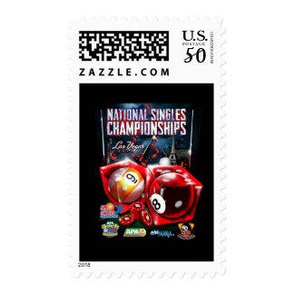 National Singles Championships - Dice Design 2 Postage