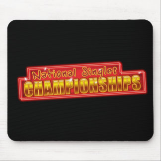 National Singles Championships Mouse Pad