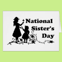 National Sister's Day Card