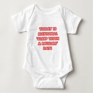 National 'Sleep With a Muslim' Day Baby Bodysuit