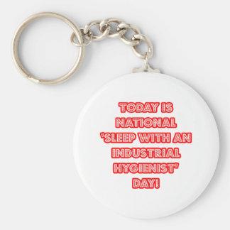 National 'Sleep With an Industrial Hygienist' Day Keychain