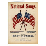 National Songs Vintage Sheet Music
