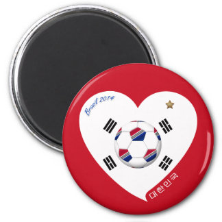 National South Korea SOCCER and of world 2014 Magnets