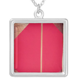National standard for one metre silver plated necklace
