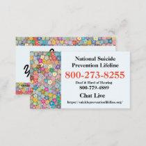 National Suicide Lifeline # Business Card