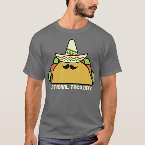 National Taco Day T_Shirt
