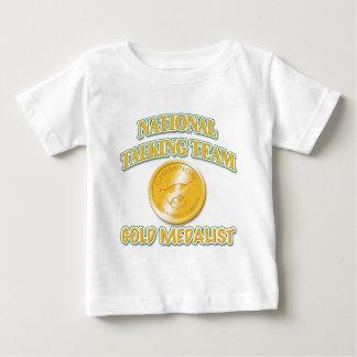 National Talking Team Gold Medalist Baby T-Shirt