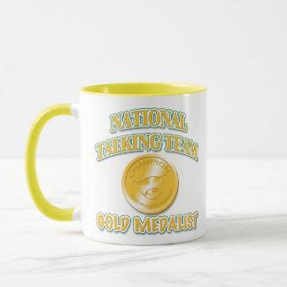 National Talking Team Gold Medalist Mug