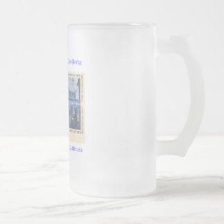 National Tax Day Tea Party Frosted Glass Beer Mug