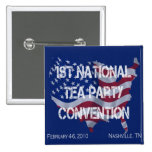 National Tea Party Convention Button