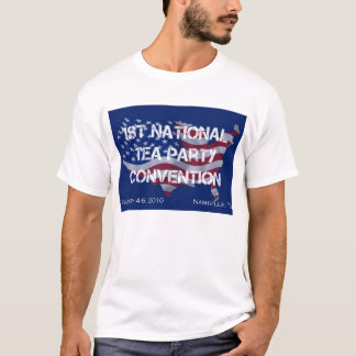 National Tea Party Convention Tee Shirt for Men