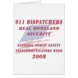 National Telecommunicators Week 2008 Card