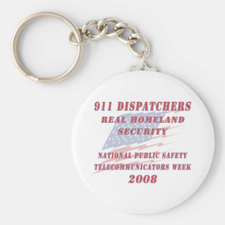National Telecommunicators Week 2008 Keychain