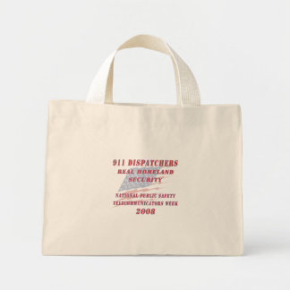National Telecommunicators Week 2008 Mini Tote Bag