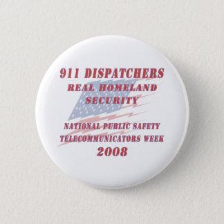 National Telecommunicators Week 2008 Pinback Button