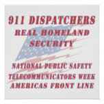 National Telecommunicators Week Americas Front Lin Poster