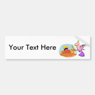 National Tooth Fairy Day February 28 Bumper Sticker