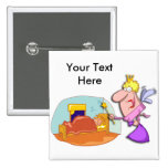 National Tooth Fairy Day February 28 Pinback Button