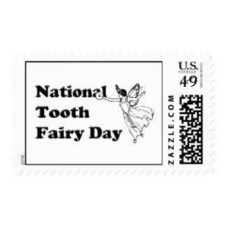National Tooth Fairy Day Postage