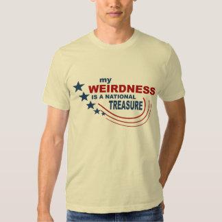 National Treasure T-Shirt Weird T-Shirt Weirdness
