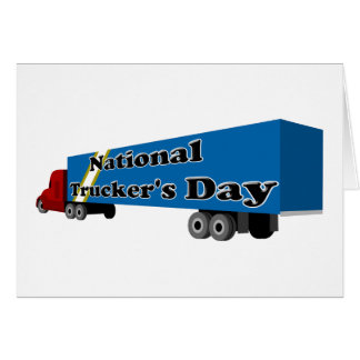National Trucker's Day Card