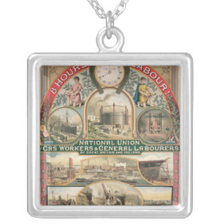 National Union Silver Plated Necklace