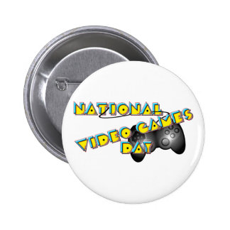National Video Games Day Buttons