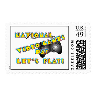 National Video Games Day Postage