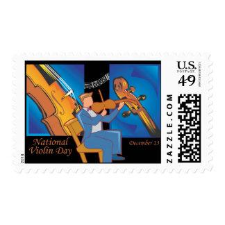 National Violin Day Postage