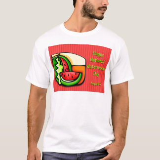 National Watermelon Day August 3 T-Shirt