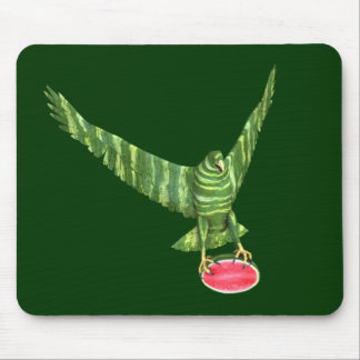 National Watermelon Day Eagle Mouse Pad