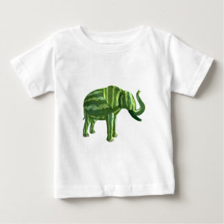National Watermelon Day Elephant Baby T-Shirt