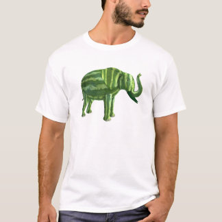 National Watermelon Day Elephant T-Shirt