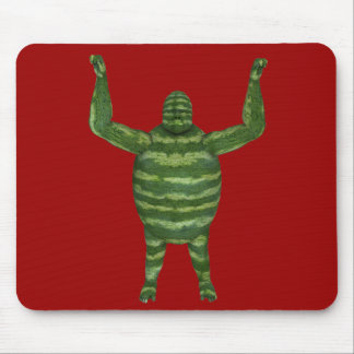 National Watermelon Day Gorilla Mouse Pad