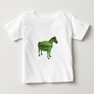 National Watermelon Day Horse Baby T-Shirt