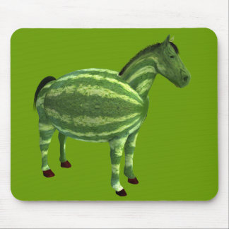 National Watermelon Day Horse Mouse Pad