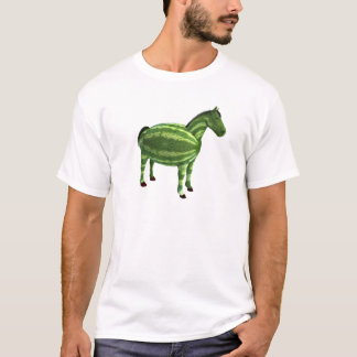 National Watermelon Day Horse T-Shirt