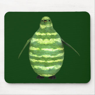 National Watermelon Day Penguin Mouse Pad