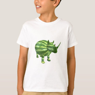 National Watermelon Day Rhinoceros T-Shirt