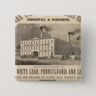 National White Lead and Zinc Company Button