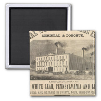 National White Lead and Zinc Company Magnet